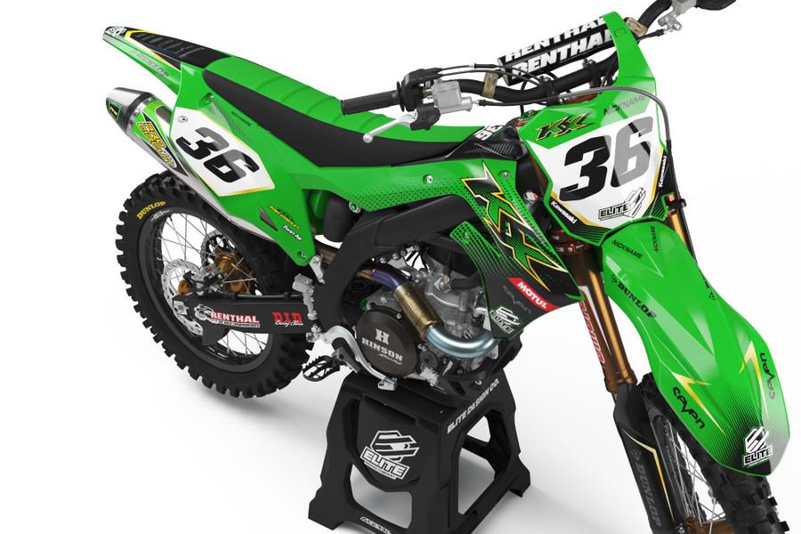 Kawasaki Substance Graphics Kit