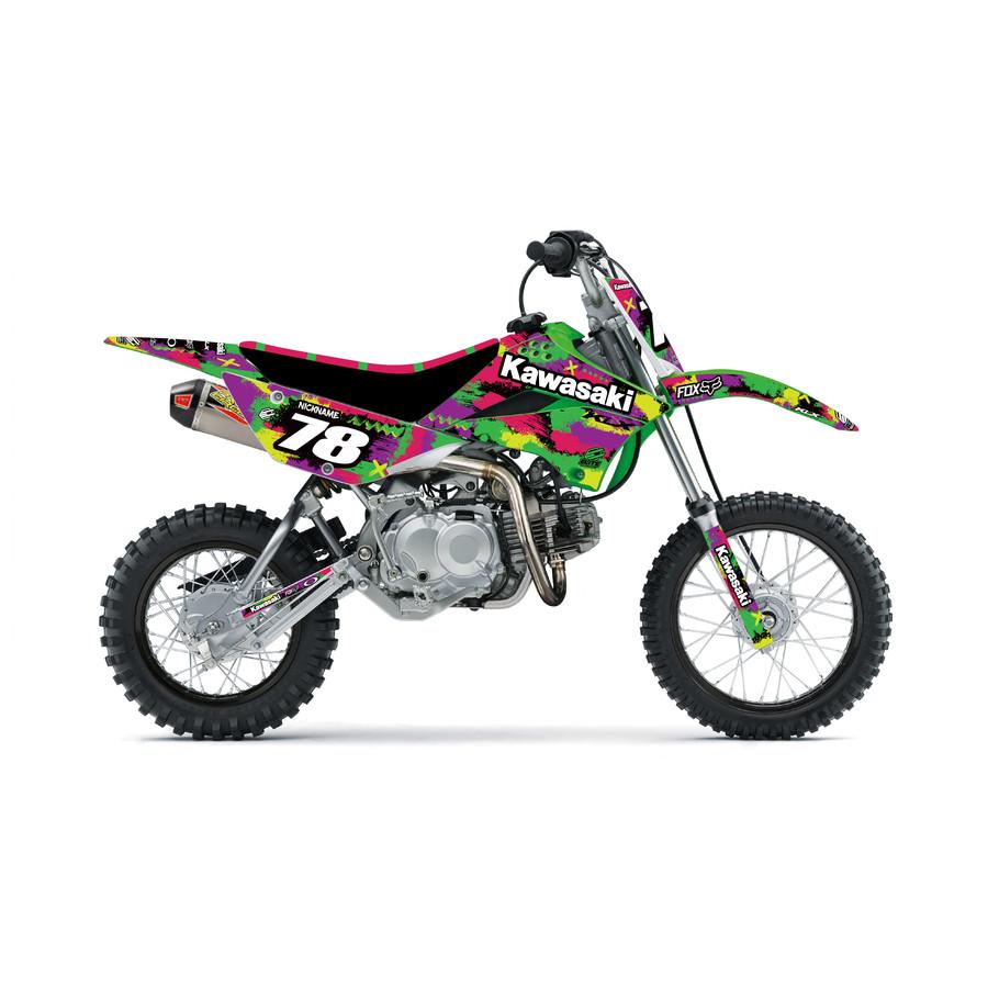 Kawasaki Kaylo KLX110 Graphics Kit