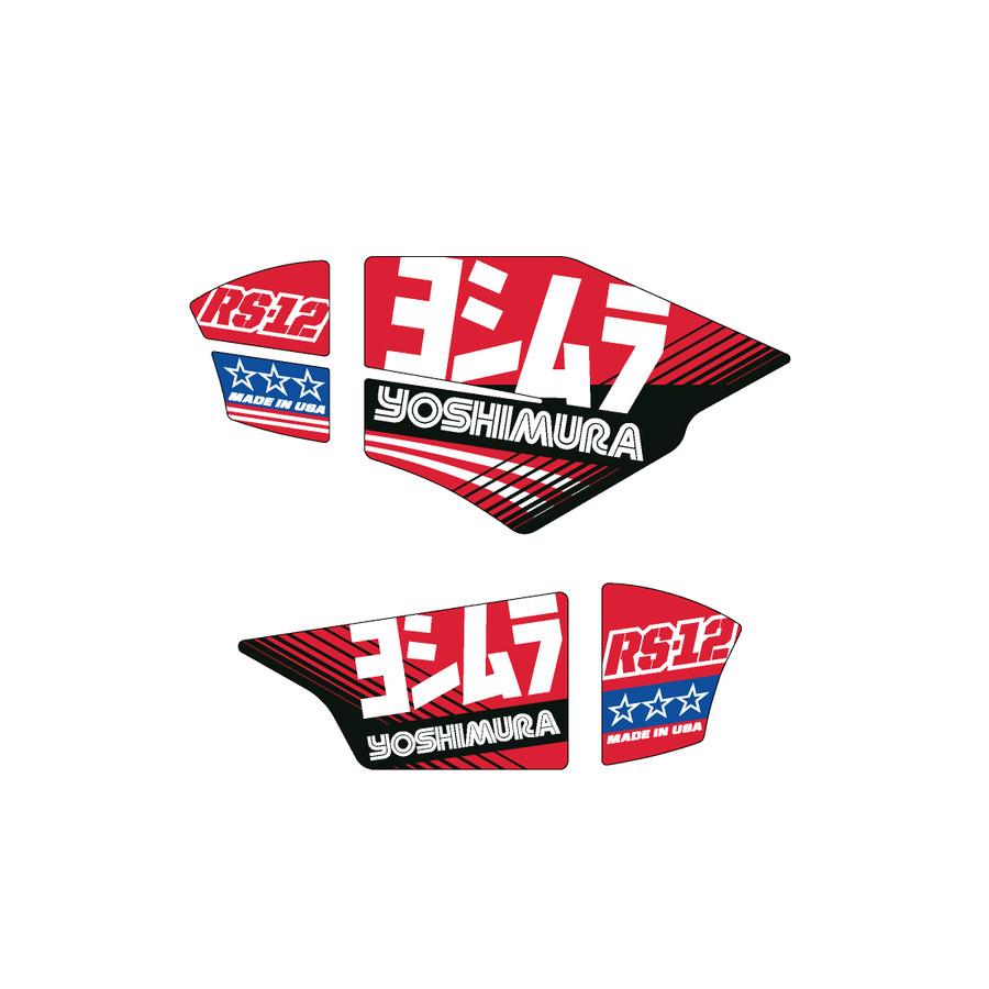 Yoshimura RS-12 Exhaust Graphics OEM