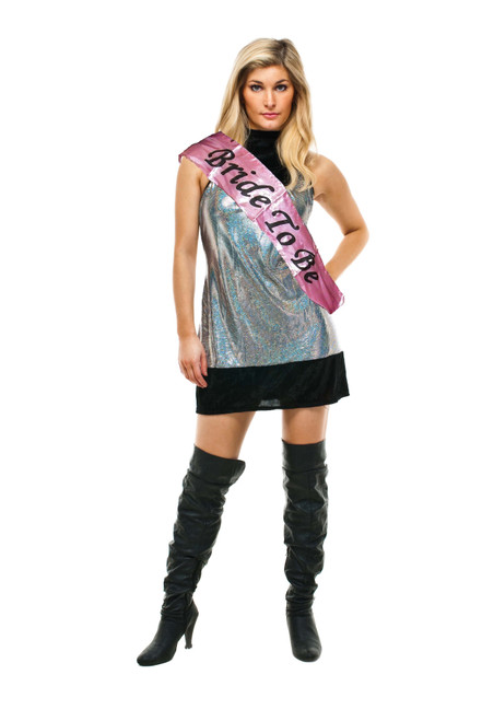 Hen Party Pink Bride to Be Sash Thick Style