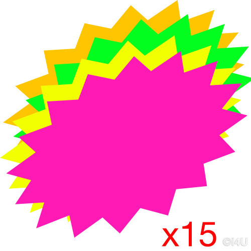 Flashes Fluorescent 12in Pk12
