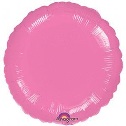 H100 18in Circle Foil Balloon Spring Lilac