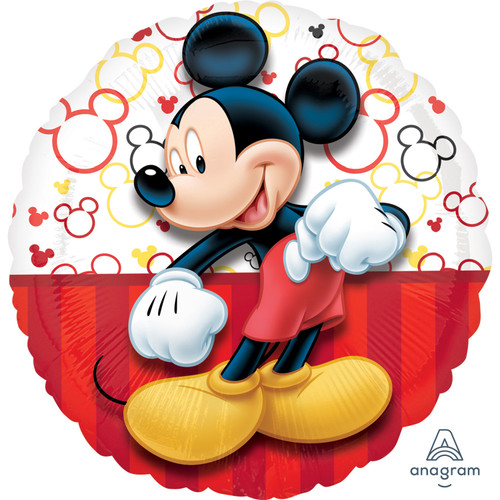 H100 17in Foil Balloon Mickey Mouse