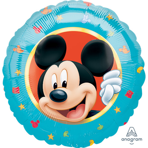 H100 18in Foil Balloon Mickey Mouse