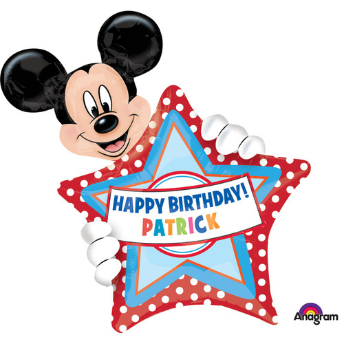 H300 Mickey Personalised Super Shape