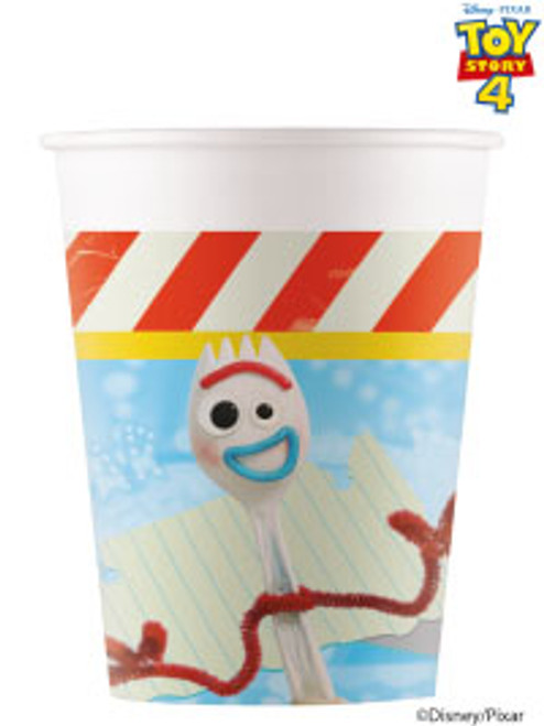 Toy Story 4 Cups Pk8 200ml