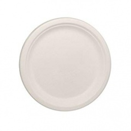 Bagasse Round Plates Pk10 9in