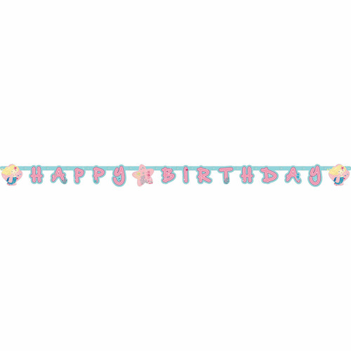 Be a Mermaid Letter Banner
