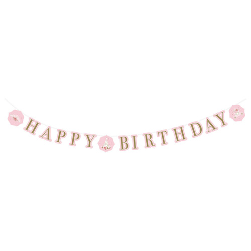 Princess For A Day Letter Banner