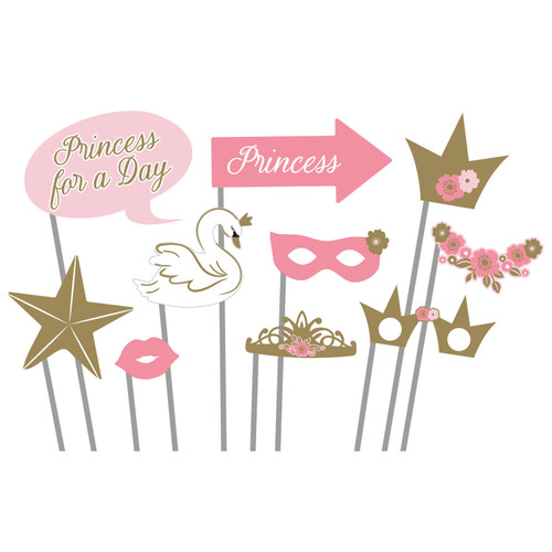 Princess for a Day Photo Props