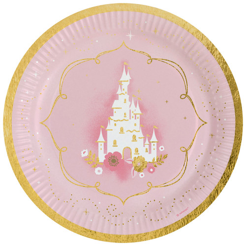 Princess For a Day Plates Pk8