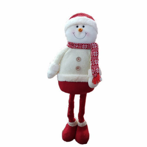 Red and White Snowman Pop Up