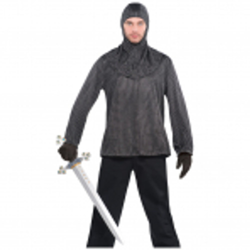 Chainmail Tunic with Cowl Std