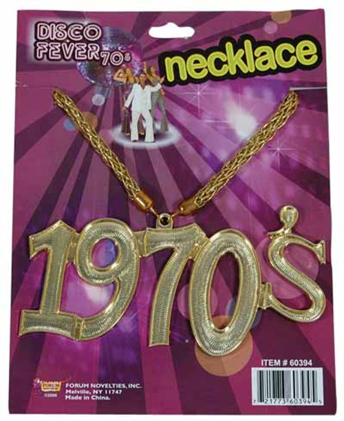 1970s Medallion Necklace