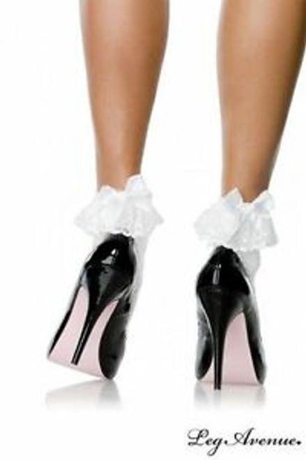 Ankle Socks With White Bows