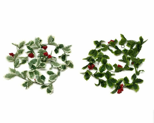 6ft Holly Garland