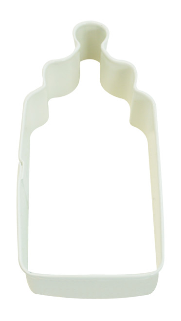 Cookie Cutter Baby Bottle White 4in