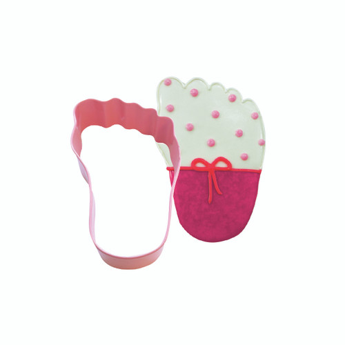 Cookie Cutter Baby Foot Pink