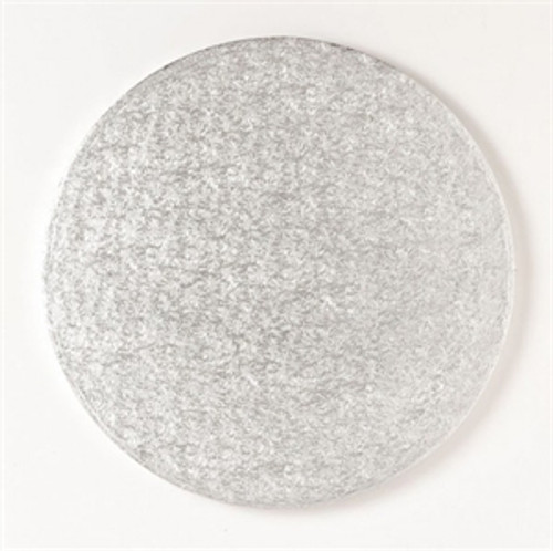 Drum Cakeboard 12in Round Silver