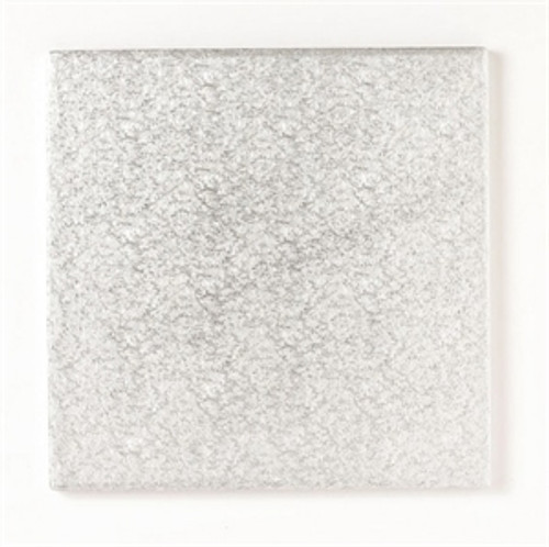 Drum Cakeboard 14in Square Silver