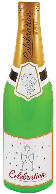 Inflatable Champagne Bottle 73cm