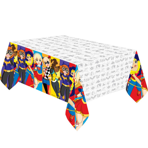 DC Super Hero Tablecover 2.4m