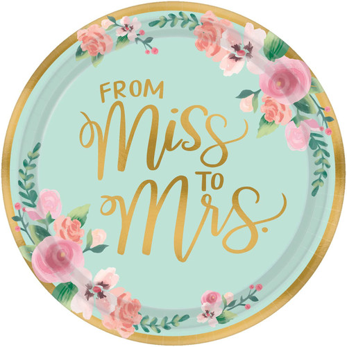 Mint to Be Plates 26cm Pk8
