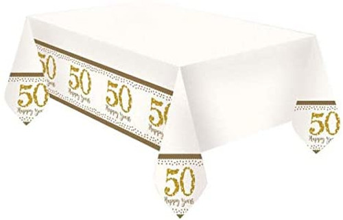 50th Golden Anniversary Tablecover