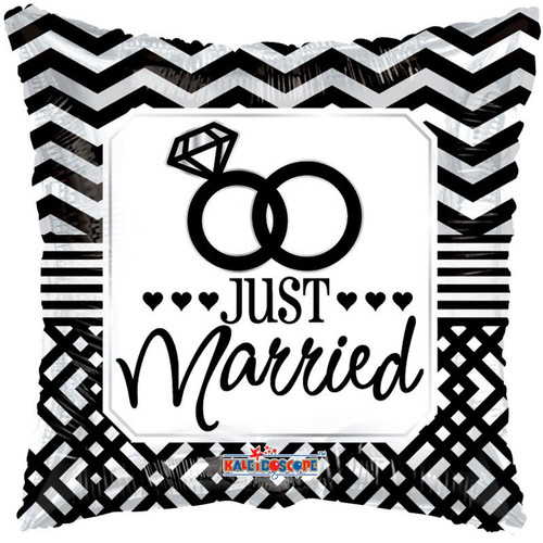 H100 18in Foil Just Married