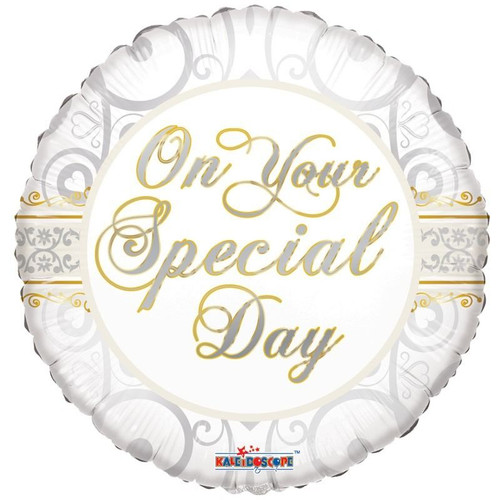 H100 18in Foil On Your Special Day
