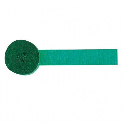 Crepe Streamer Holiday Green 81ft
