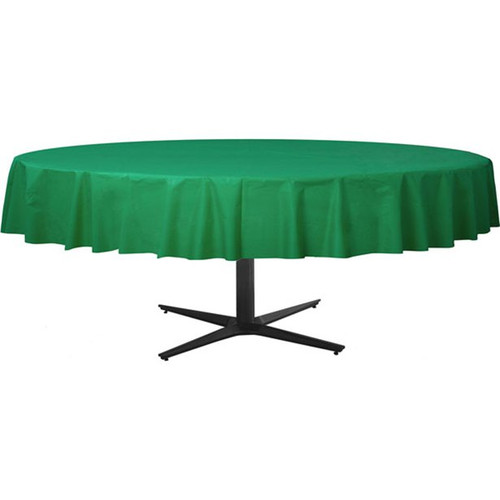Tablecover Round 84in Diameter  Green
