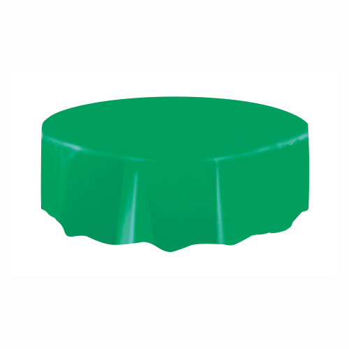 Tablecover Round Emerald Green 84in