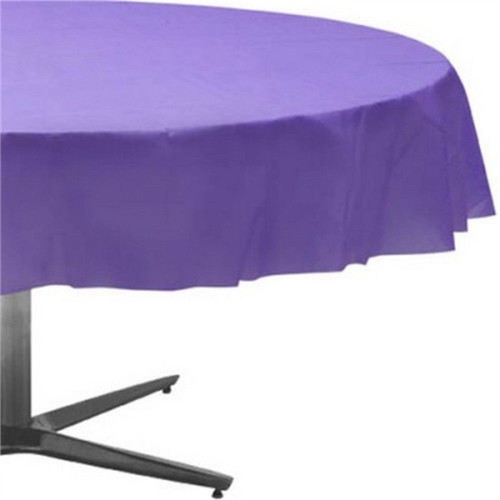 Tablecover Round 84in Diameter New Purple
