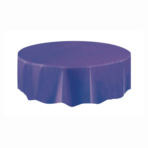 Tablecover Round Purple 84in