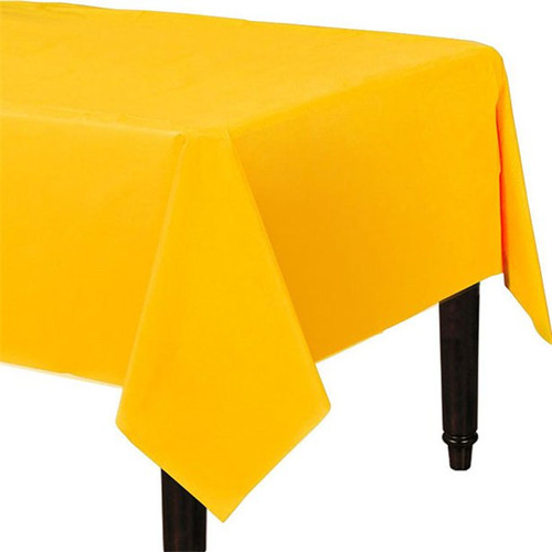 Tablecover Rectangle  54x108in Yellow