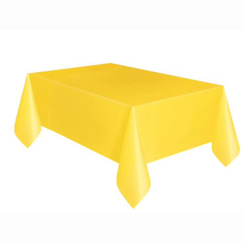 Tablecover Rectangle Yellow 54x108in