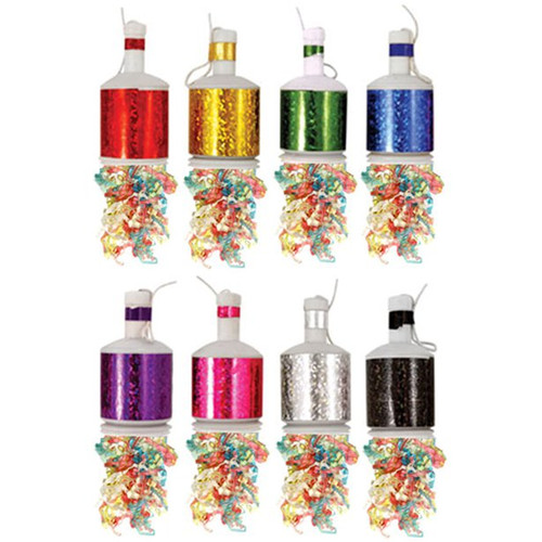 Party Poppers Multicoloured Pk20