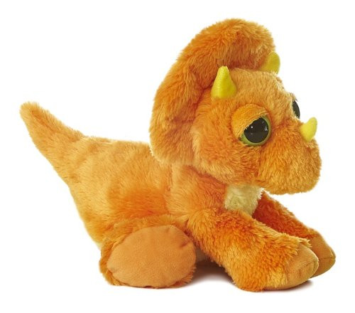 Dreamy Eyes Triceratops 12in Plush Toy