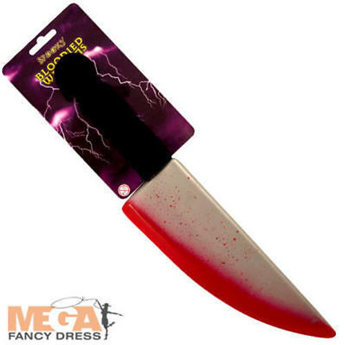Bloodied Knife Weapon 38cm