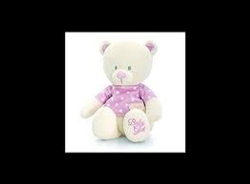 Baby Bear with T Shirt Pink