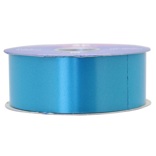50mm Polytear Ribbon Turquoise 100yds