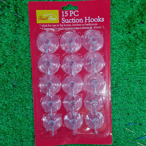 Suction Hook Pack 15