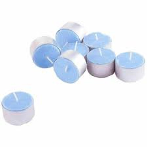 20 Scented Night Light Candles Cotton Fresh