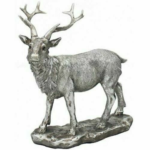 Leonardo Collection Reflections Silver Stag Left Faced