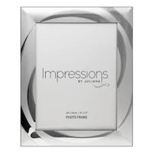 Impressions Silver Plated Photo Frame 8x10in