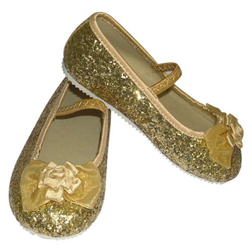 Gold Party Shoes 25 to 26