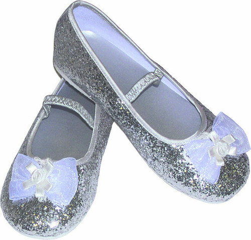 Silver Party Shoes 33 to 34