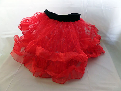 Adult Tutu Deluxe Red
