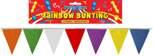 Bunting Assorted 7m